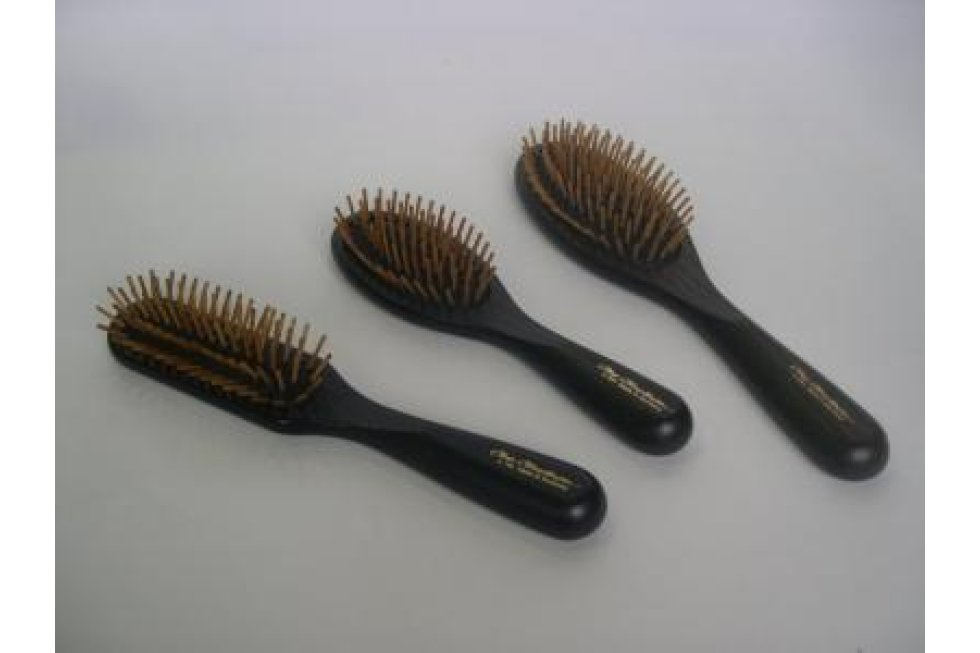 CCS WOOD PIN BRUSH OVAL LARGE