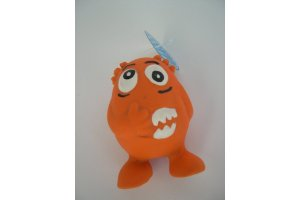latex-monster-oranje-11cm