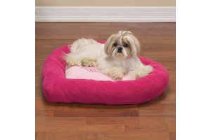 roze-bed-hart-princess