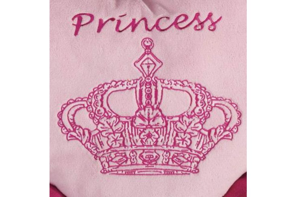 Roze Bed hart Princess