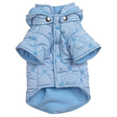 Quilted pastel  Blauw XS